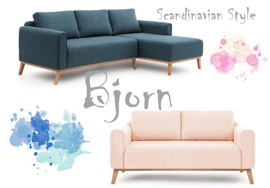 Styl skandynawski sofy fotele i nie tylko