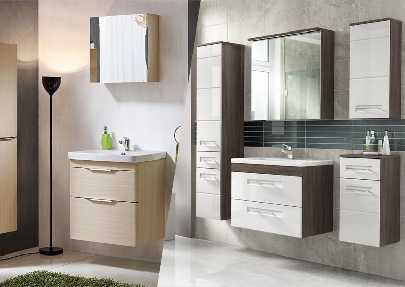 Kolekcje mebli łazienkowych