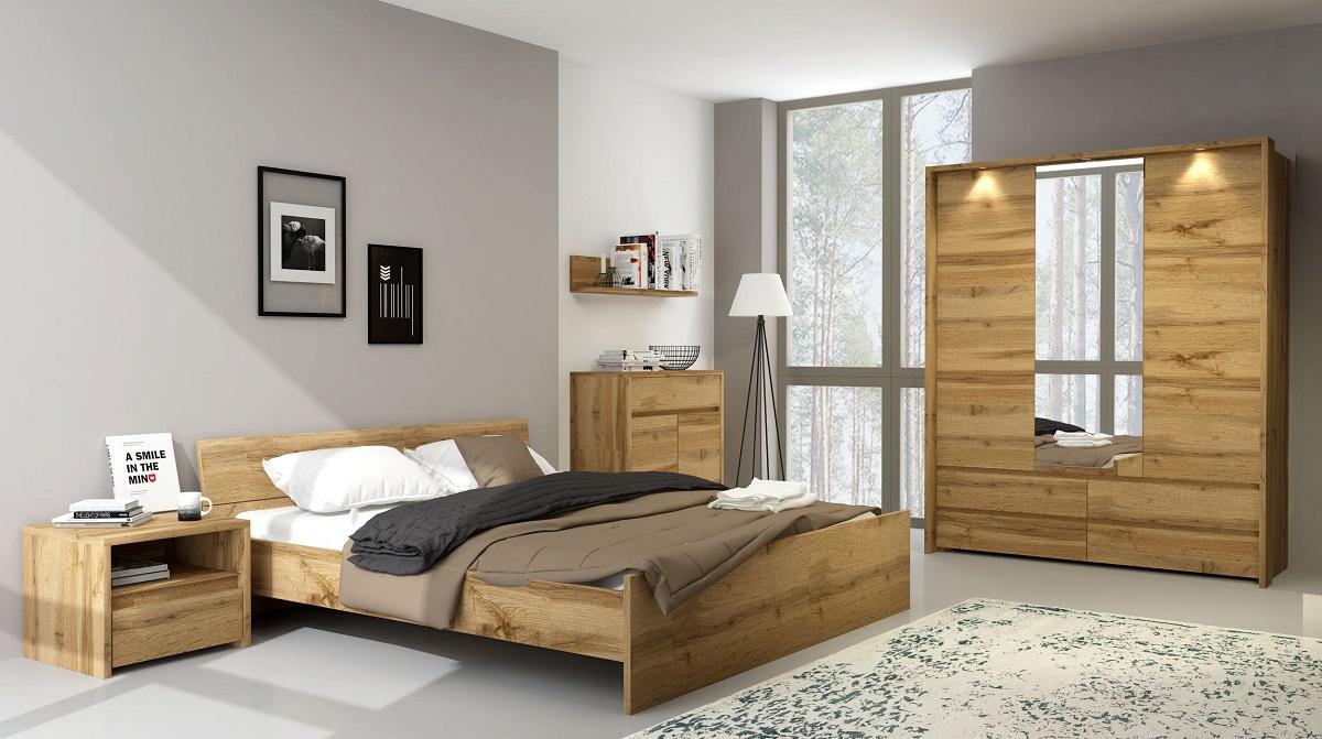 TAHOE sypialnia dąb wotan