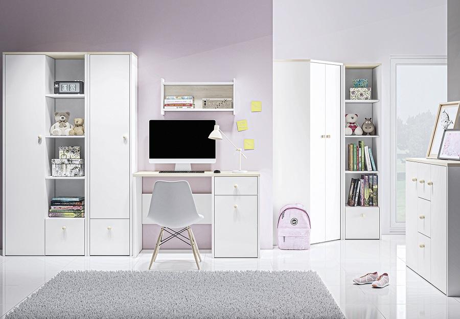 ELMO Białe meble dla dzieci i młodzieży