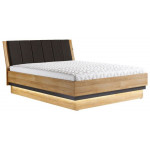 YORK Y18 / 160 łóżko - tapicerowany zagłówek