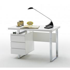 Sydney biurko białe lakier szuflady 40124CW4