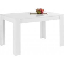 FIRENZE stół rozkładany lakier biały