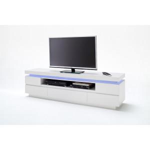 Ocean szafka pod telewizor biały lakier połysk 48982WW