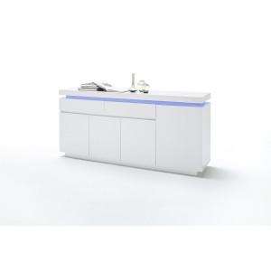Ocean komoda 4d2s biały lakier połysk 48984WW
