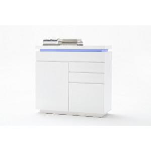 Ocean komoda 2d3s biały lakier połysk 48986WW