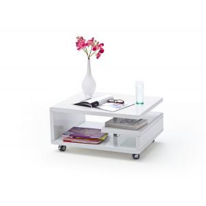KIRA biały stolik lakierowany