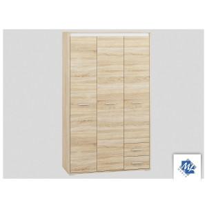 AVO 01 Szafa ubraniowa 3 drzwiowa z szufladami