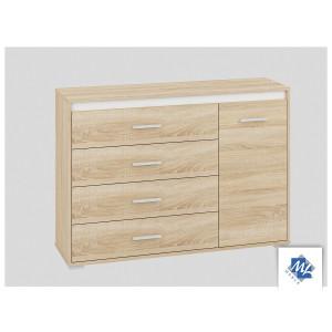 AVO 12 Komoda z 4 szufladami i 1 drzwiczkami