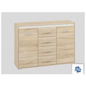 AVO 14 Komoda z 4 szufladami i 2 drzwiczkami