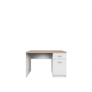 TOP MIX biurko 1d1s/120 biały