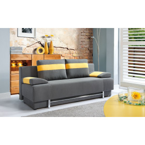 sofa BURSA 3FP z funkcją spania z pojemnikiem na pościel - PMW meble