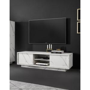 ICE  szafka TV Carrara marmur 01