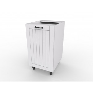 D4 szafka kuchenna biała model LORA - fronty MDF , klasyczna kuchnia