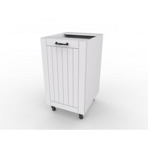 LORA D45 szafka kuchenna biała styl prowansalski
