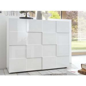 DAMA komoda biały lakier 209008-04