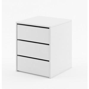 DEA 13 kontener 3 szuflady do szafy biały