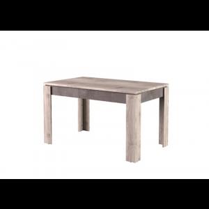 JAZZ stół rozkładany 130/175 kasztan nairobi / onyx