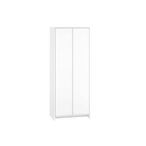KENDO 03 Szafa ubraniowa 2 drzwiowa z bieliźniarką biała