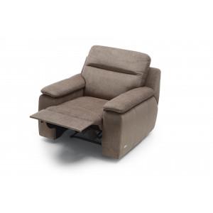 LIBRETTO fotel relax elektryczny tkanina