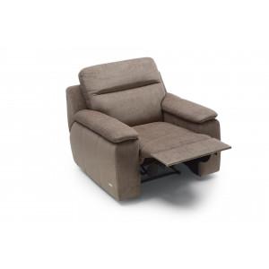 LIBRETTO fotel relax manualny tkanina