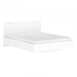 LINGO łoże 160 biały połysk