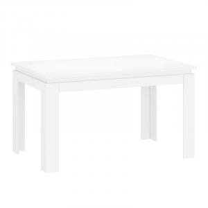 LINGO stół rozkładany 135/184 biały połysk