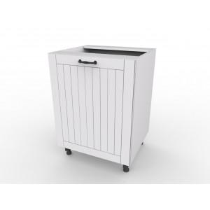 LORA szafka biała 50 matowa do kuchni
