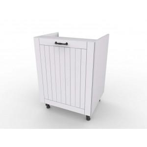 LORA ZK6 biała szafka kuchenna pod zlew 60
