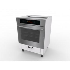 LORA ZK6 szafka kuchenna zabudowa piekarnika i płyty grzewczej biała