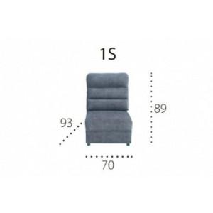 METRO 1S Moduł 1 osobowy siedzisko