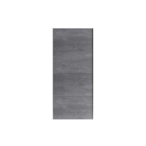 MOORE 24N1IO05 Drzwi pojedyncze 4-częściowe do szafy 200 lub 220 cm Oxid