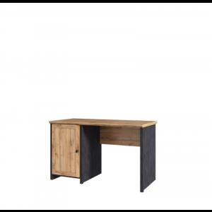 NICOLE biurko 1d/120 dąb wotan / matera