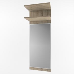 OSKAR panel z lustrem 40 dąb san remo