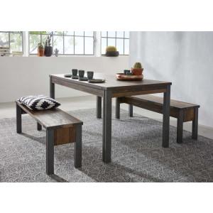 PRISMA stół jadalniany - styl industrialny