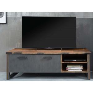 PRISMA - szafka pod telewizor mała - stolik industrialny