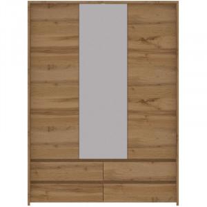 TAHOE TA22 Szafa 3-drzwiowa z lustrem