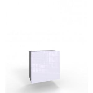 VIGO KWADRAT czarno biała szafka w połysku