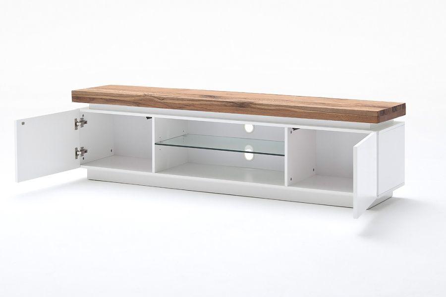 romina stolik rtv szafka bia y lakier matowy 48990mw. Black Bedroom Furniture Sets. Home Design Ideas