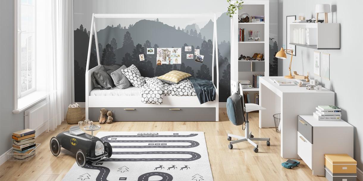 PICOLO aranżacja mebli dziecięcych w stylu skandynawskim